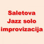 Saletova jazz improvizacija