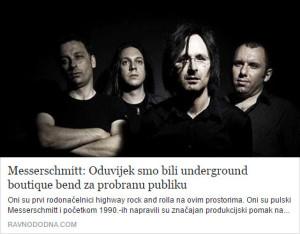 messerschmitt - underground boutique