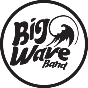 Big Wave Logo Black on White