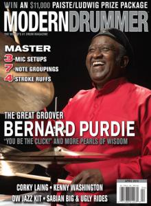 modern drummer april 2015