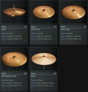 addictive cymbals