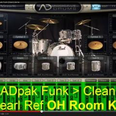 addictive drums funk