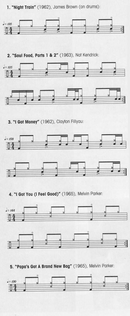 James Brown ritmovi - prvi dio