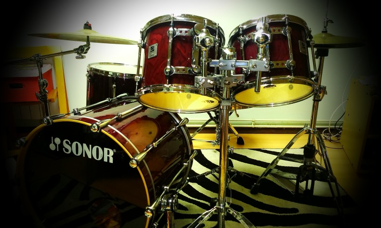 Sonor Designer Maple Light drum set