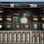 Jazz ritam iz baze ritmova plugina Addictive Drums