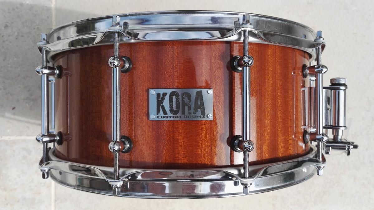 kora custom snare drum